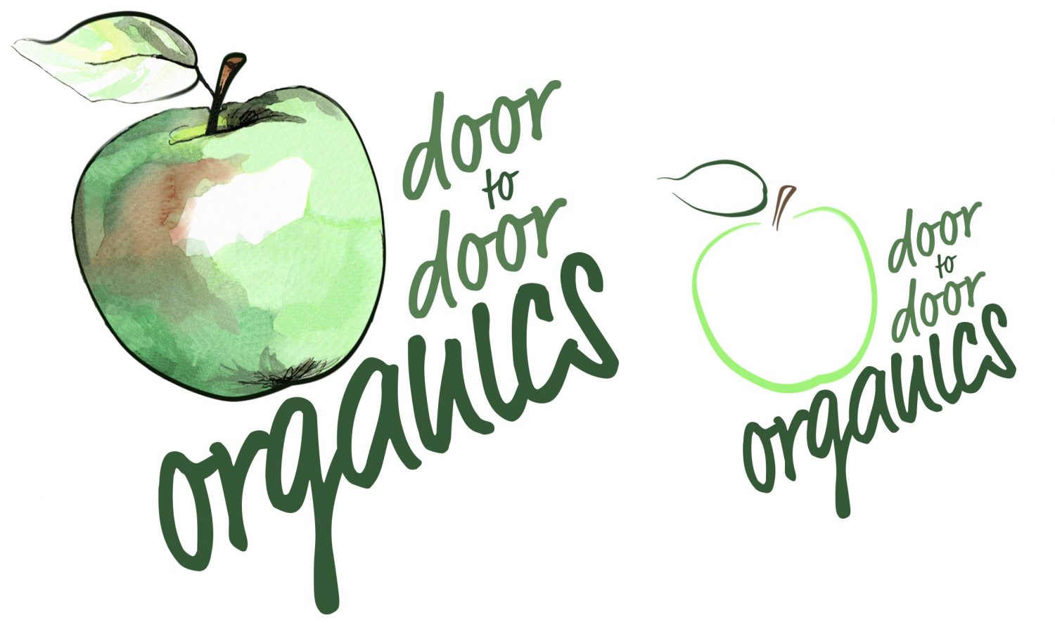 Door to Door Organics eple logo
