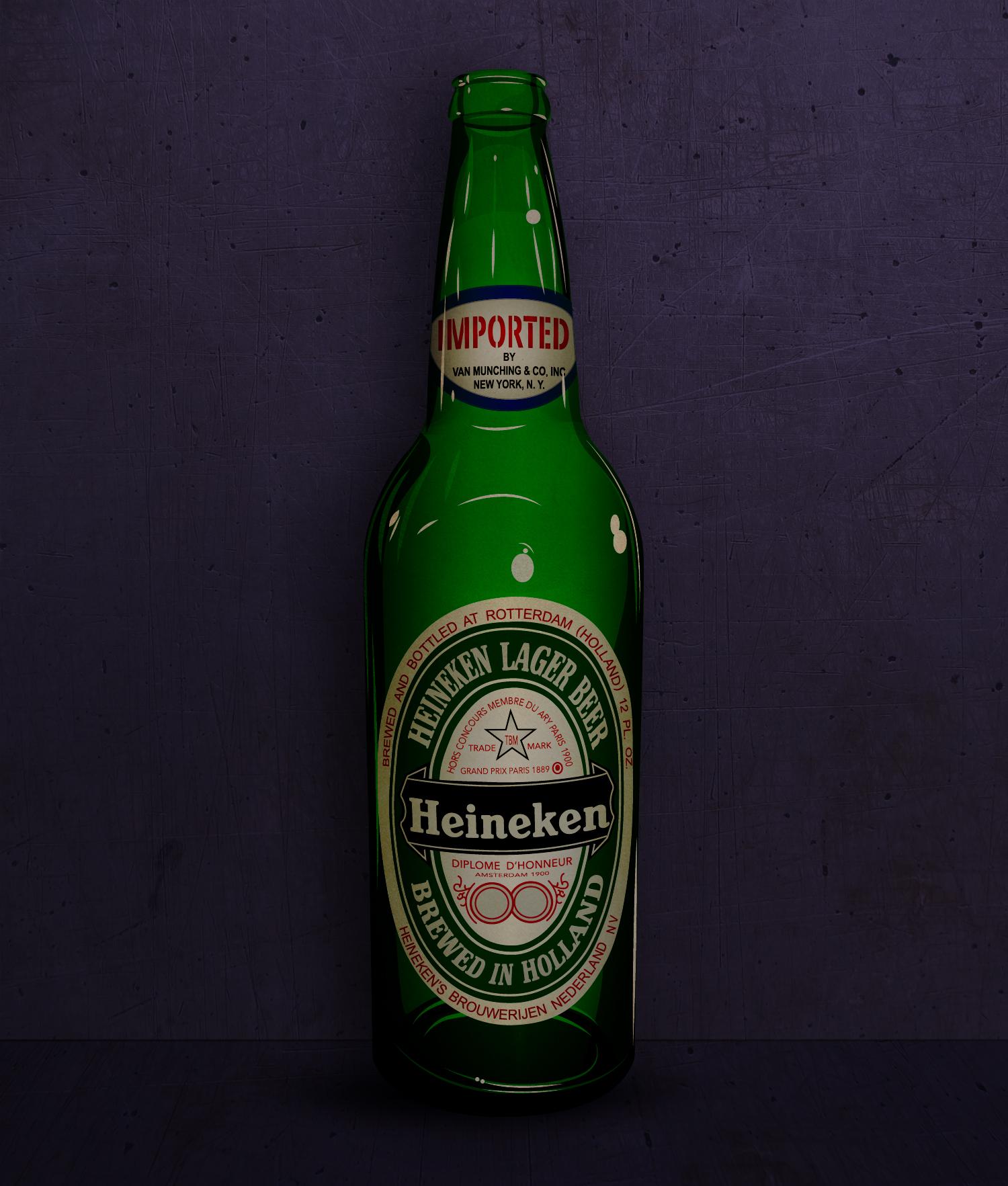 1960-tallet Heineken reklame