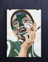 Portrett Abstrakt ekspresjonisme