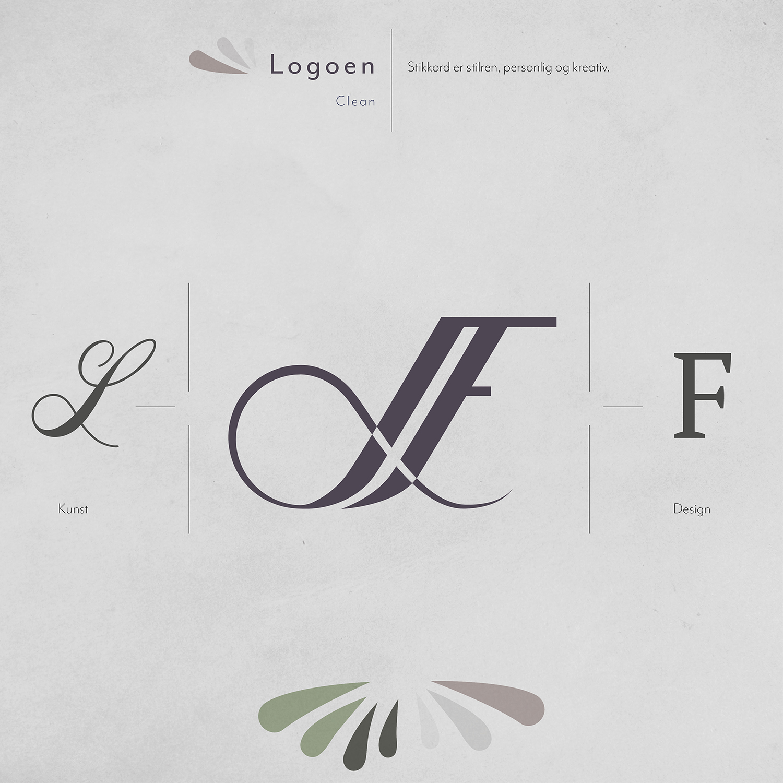 Den ferdige logoen
