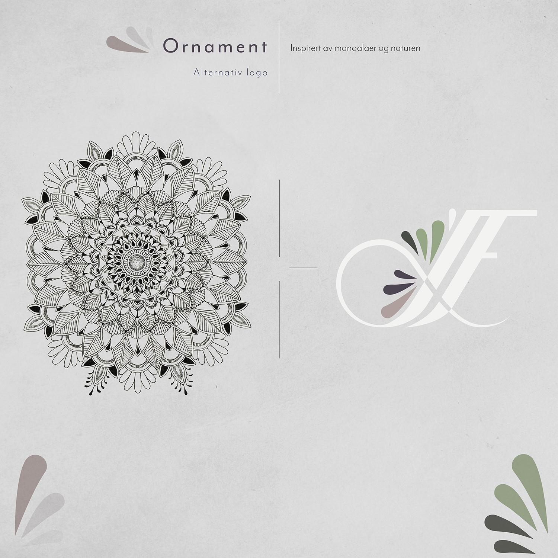 Logoen med ornament