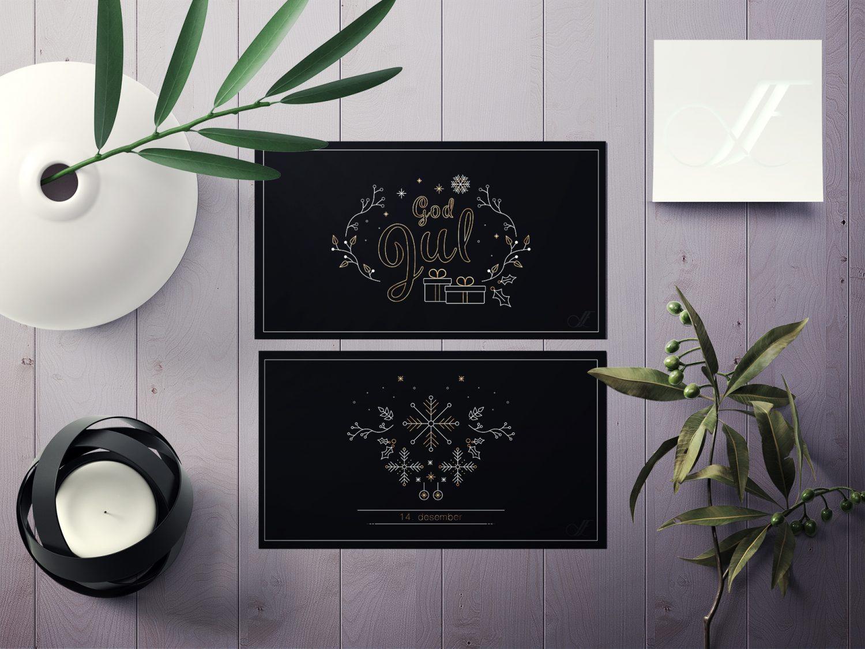 Julekalender illustrasjoner 2018